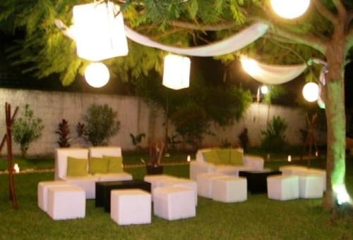 Boda y protocolo como organizar una boda solo con c ctel for Decoracion fiesta jardin noche